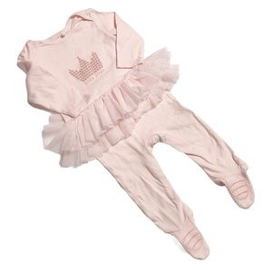 🧚‍♀‍4/$25 BLUEZOO Little Princess Footie 9-12M